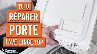 Comment réparer la porte de son lave linge