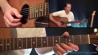 Patience Guitar Lesson Pt.2 - Guns N