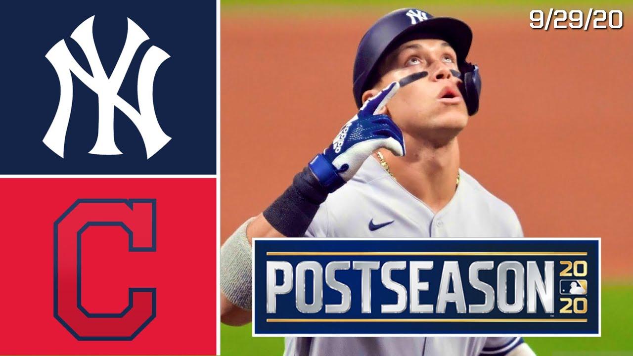 Yankees vs. Indians - Game Recap - September 29, 2020 - ESPN