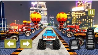 Monster Truck Driving Stunts Impossible Tracks 19 - Android Gameplay Video