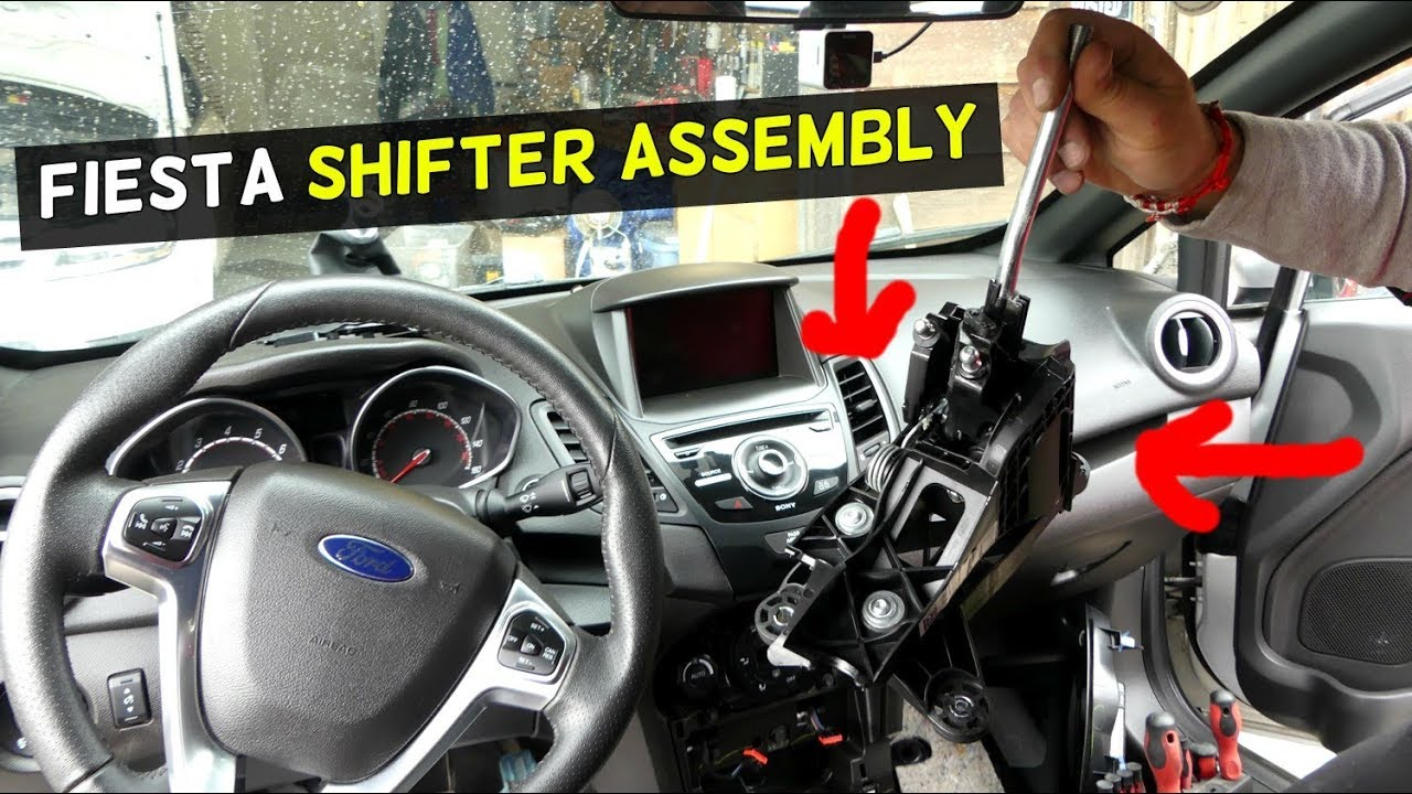 hight resolution of ford fiesta shfiter removal shifter assembly fiesta st s se mk7