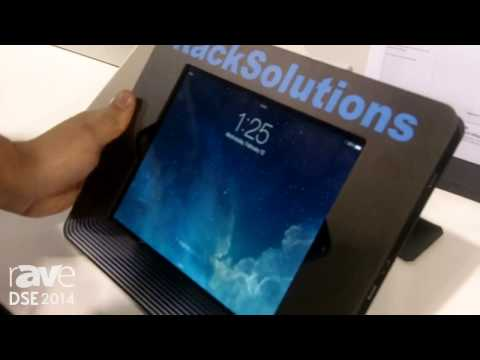 DSE 2014: Rack Solutions Introduces Its iPad Enclosure for Point of Sale