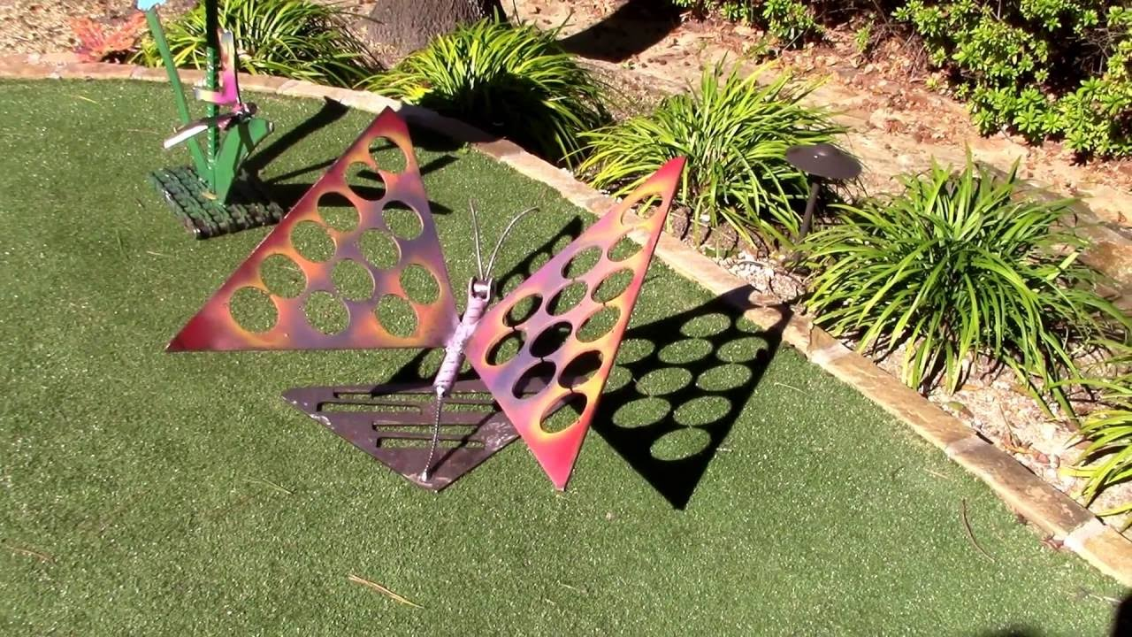 Recycled Garden Art Ideas Scrap Metal Sculpture Projects By Raymond Guest    YouTube