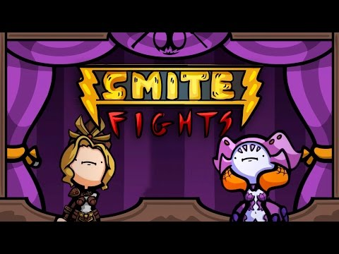 SMITE Fights #15: Athena vs. Arachne