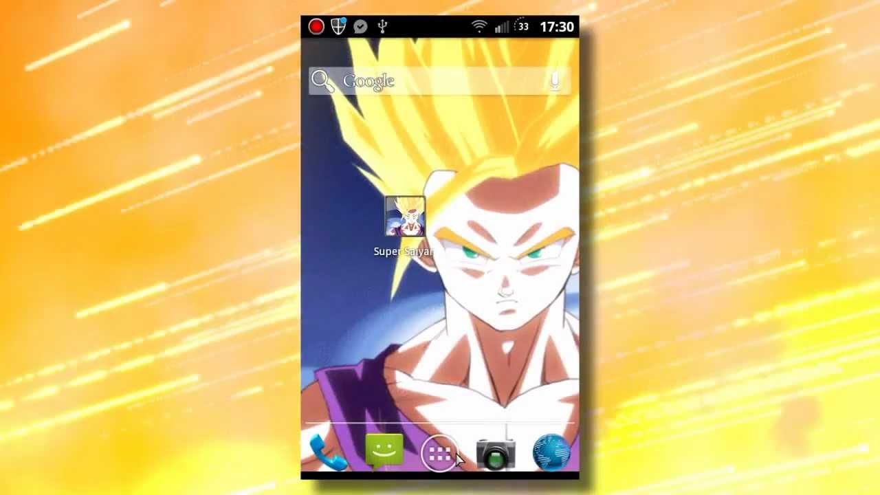 Super saiyan 2 unleashed android live wallpaper youtube - Super saiyan live wallpaper ...