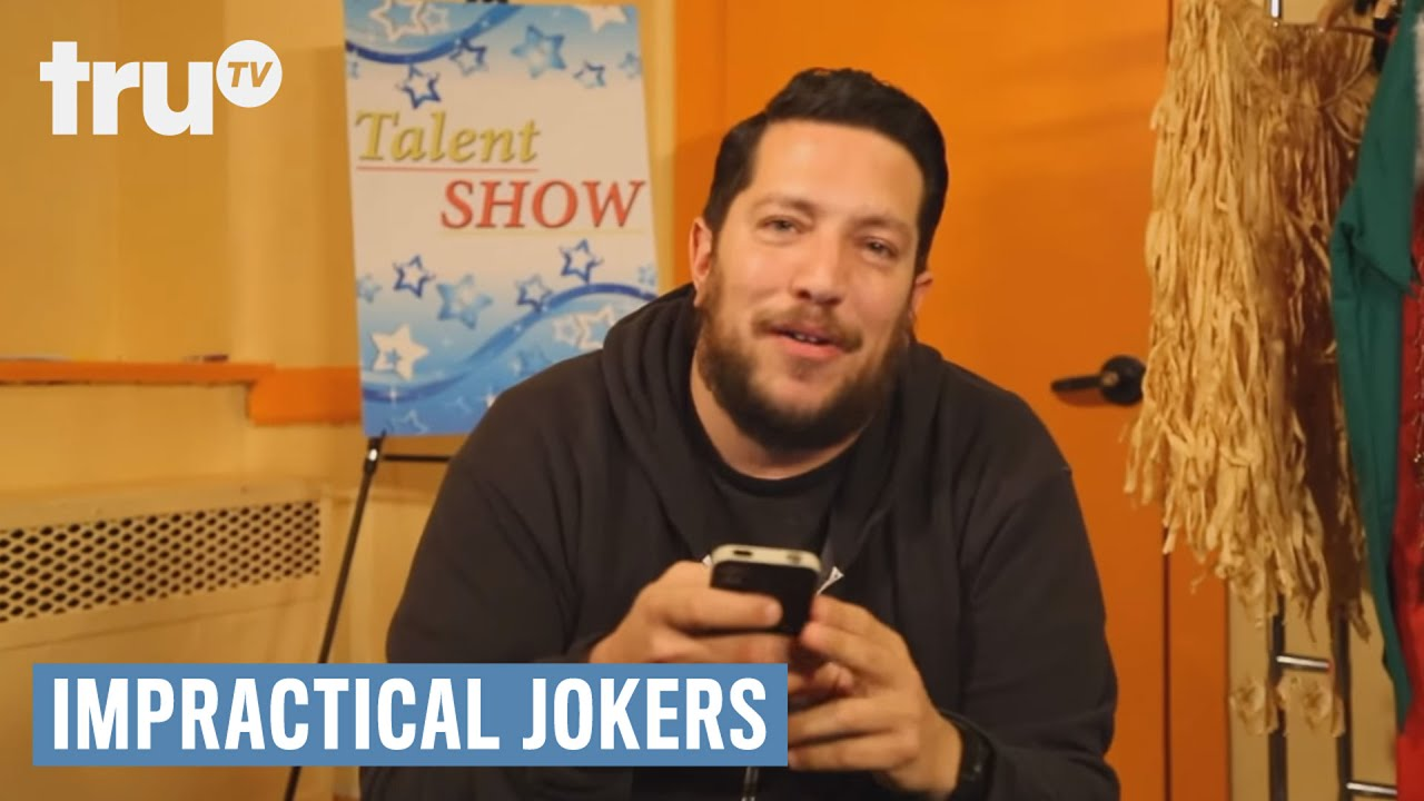 Hell Baby Nude Scene impractical jokers - ep. 404 after party web chat