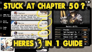 Increase your power to Clear Chapter 50 - Alchemia Story TIps and Trick Guide