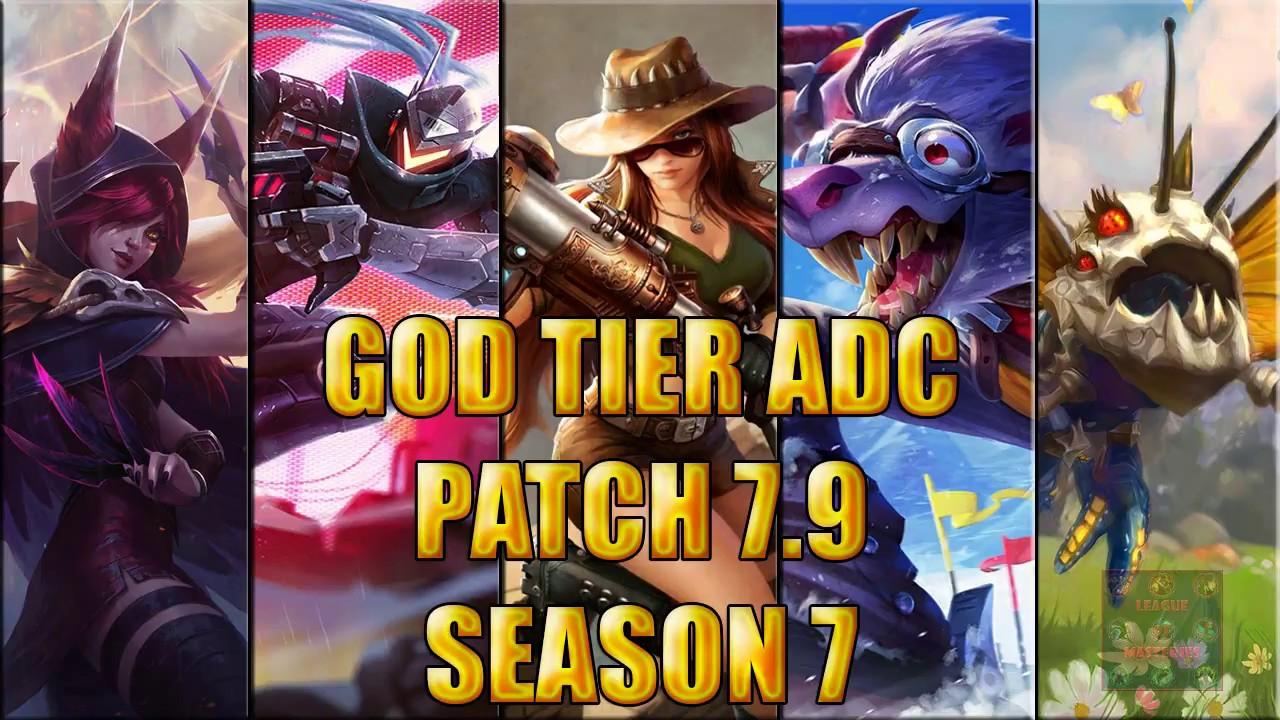 how to play adc season 8