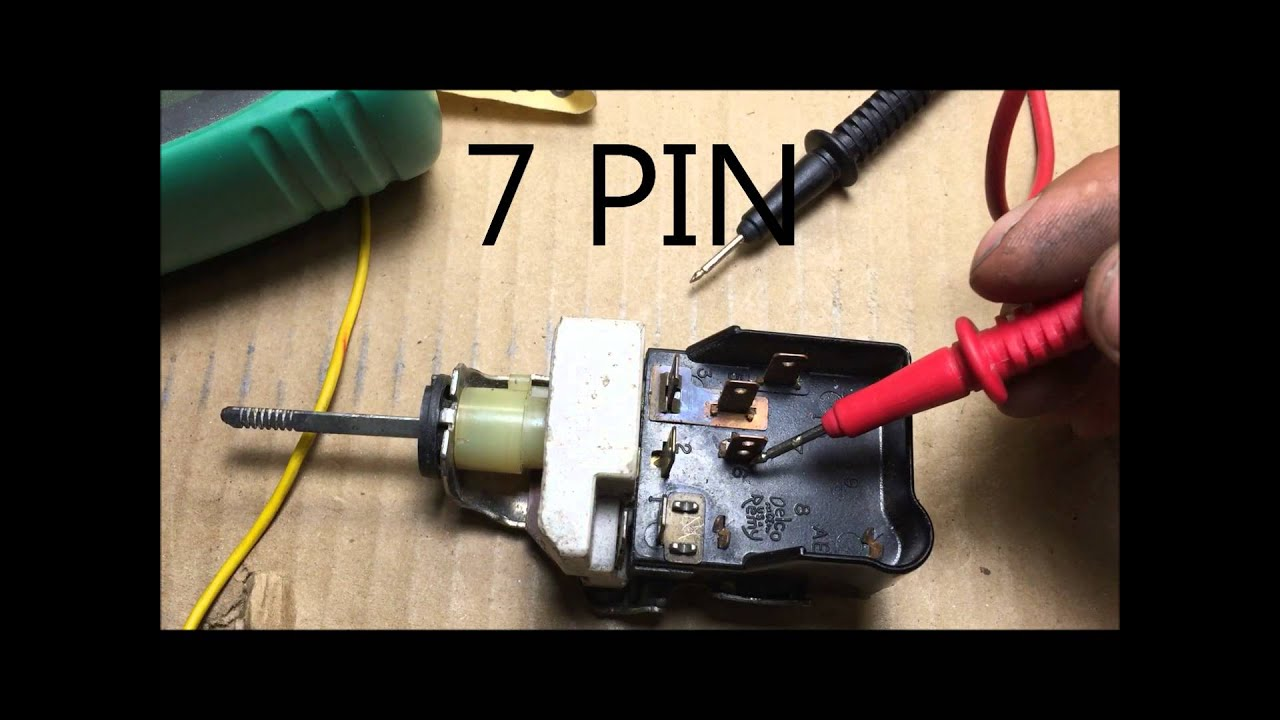 1962 gm headlight switch wiring
