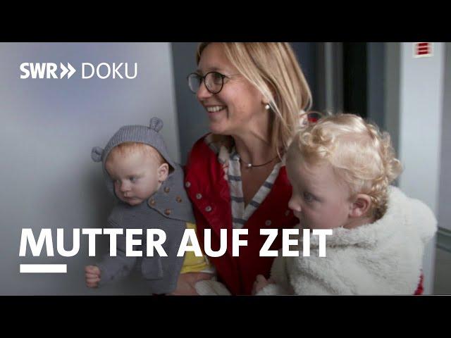 Mutter auf Zeit – wenn man Pflegekinder wieder abgeben muss | SWR Doku