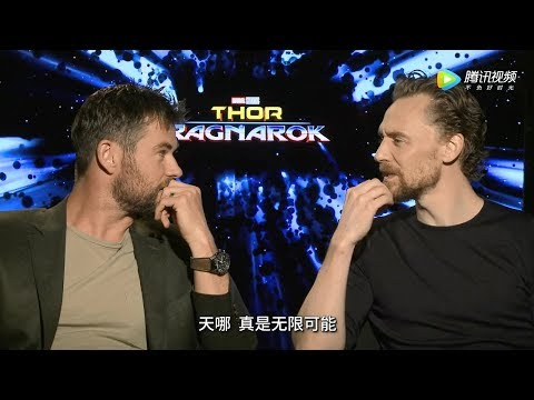 Chris Hemsworth and Tom Hiddleston Play 'Would You Rather'  Thor: Ragnarok