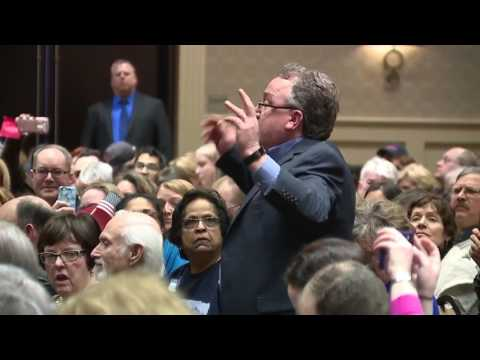 Republican Rep. Dave Trott holds public town hall
