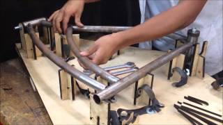 Fabricación de una Bicicleta Clásica
