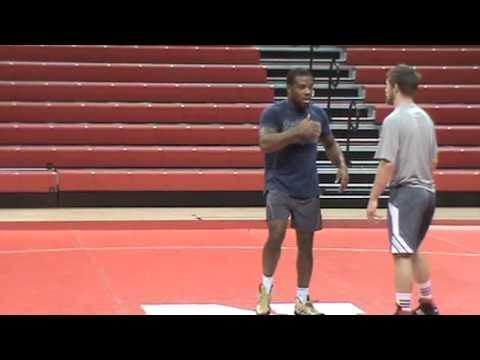 Nebraska Wrestling Coaches Clinic 2013 14 Jordan Burroughs technique 6  using your hands to create a