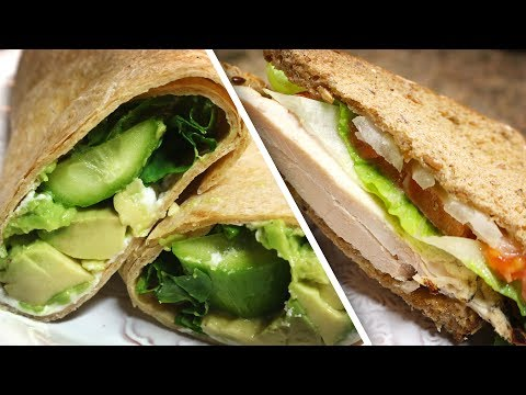 2 Quick & Healthy Gourmet Sandwich Recipes