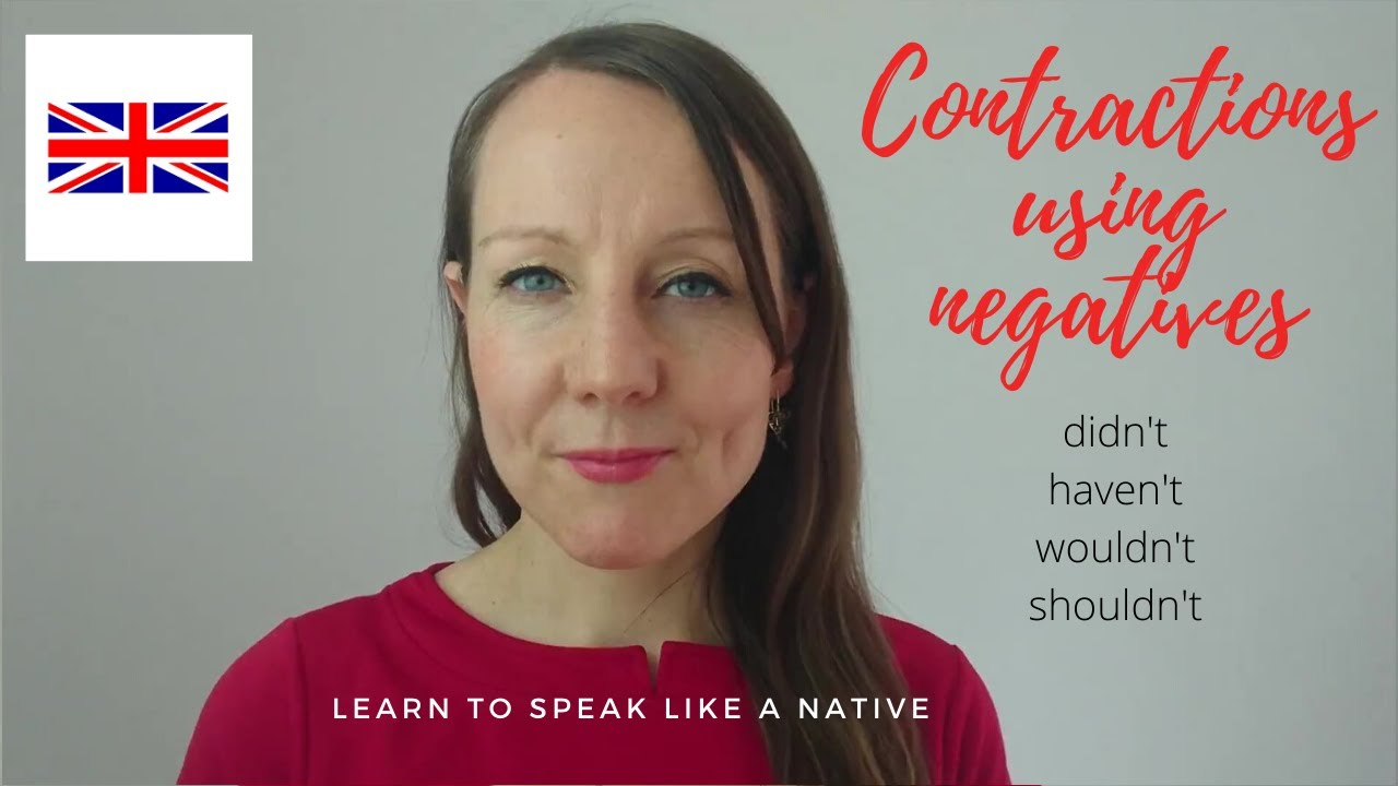pronunciation of negative contractions