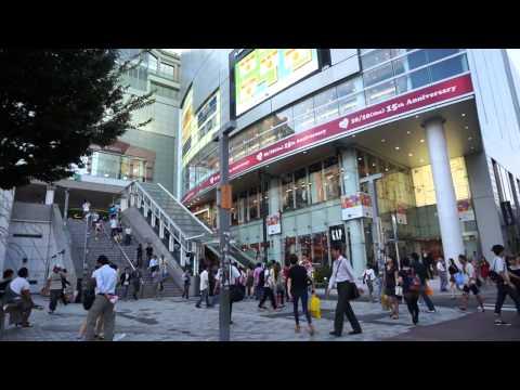 [HD]Japan tokyo in Shinjuku Tour Guide