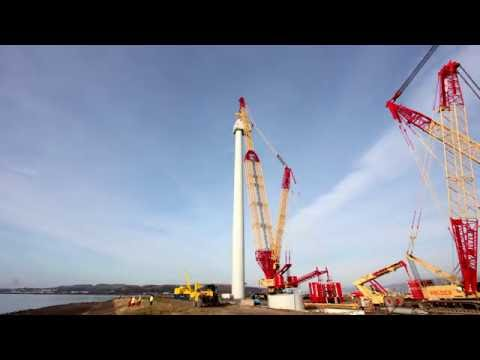 Mitsubishi Heavy Industries Hunterston DDT Wind Turbine