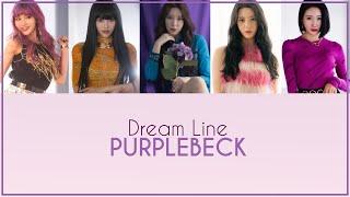 Purplebeck [퍼플백] dream line {colour coded lyrics | rom 한글 eng}