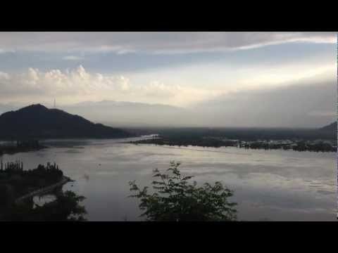 Sunset at Dal lake Srinagar