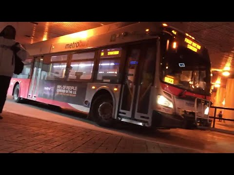 WMATA 2012 New Flyer Xcelsior XDE40 Bus #7151 on route Foggy Bottom-GWU Station