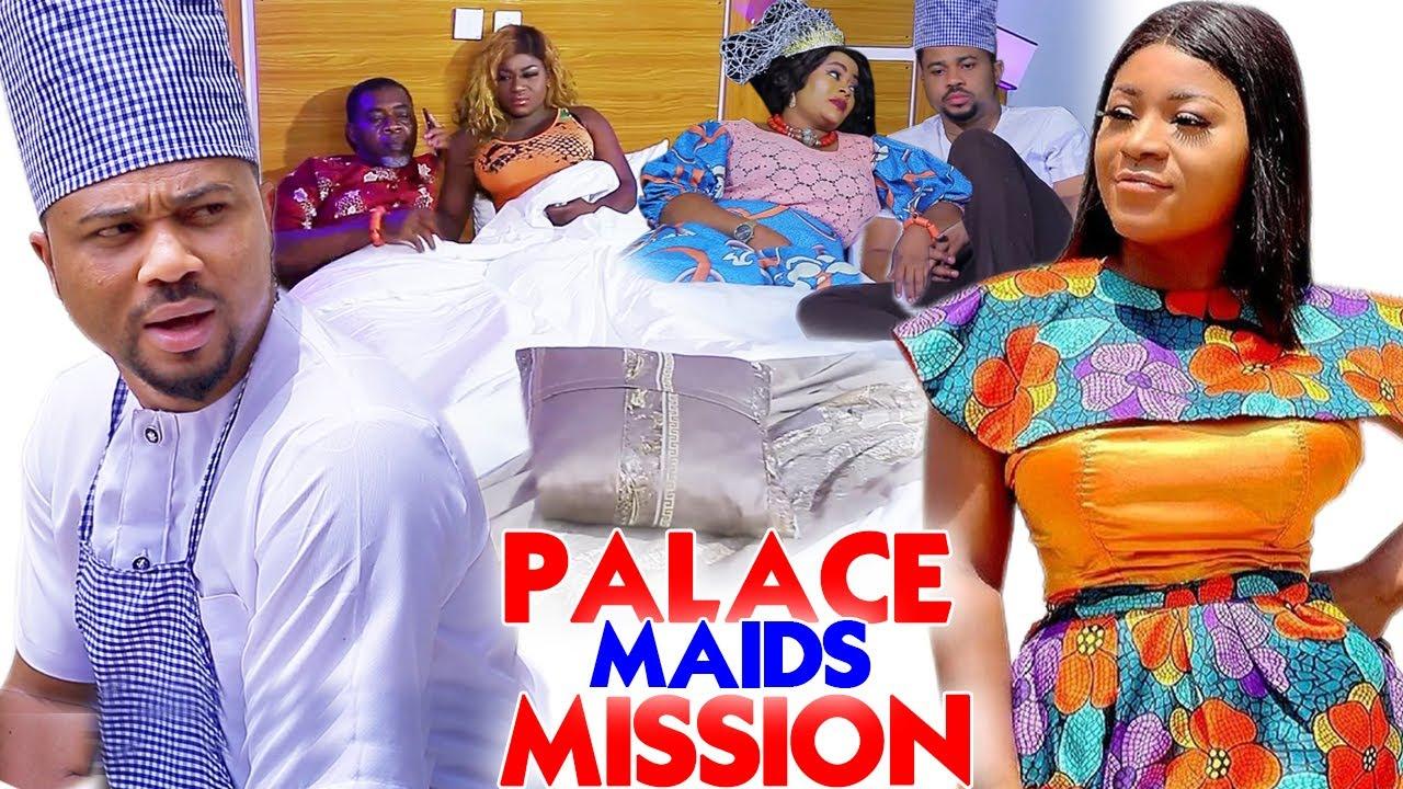 "Download Palace Maids Mission ""New Movie"" Complete 1&2-Destiny Etiko/Michael Godson 2021 Nigerian Movie"