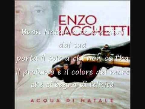 Enzo Iacchetti,Baglioni,Dalla,Mina,Ruggeri,Vecchioni - Buon Natale (Testo)