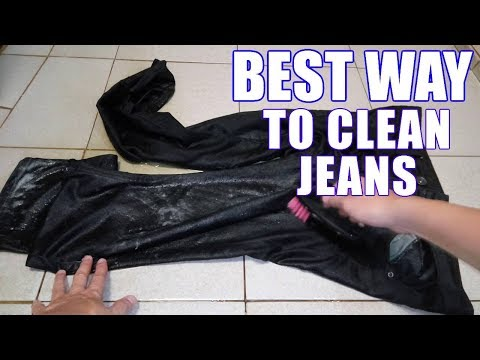 How to Wash Jeans By Hand Properly Without Fading Them – Easy Instructions!