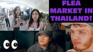 BLACKPINK HOUSE EPISODE 3 PART 3, 4 & 5 (COUPLE REACTION!) | FLEA MARKET IN THAILAND!