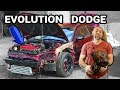 Dodge Stratus Coupe AWD conversion & EVO TURBO engine swap how to...