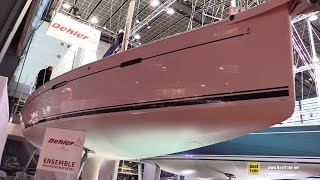 2017 Dehler 42 Sailing Yacht - Deck and Interior Walkaround - 2016 Salon Nautique Paris