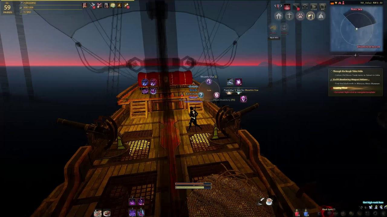 Black Desert Online (BDO) --- Ghost Ship