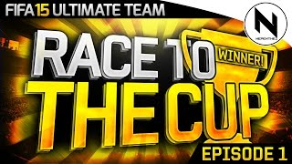 WE PACKED A LEGEND!!! - Race to the Cup #01
