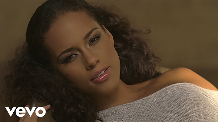alicia keys  no one official music video