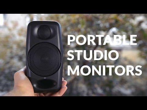 IK Multimedia iLoud Micro Monitors Review (Bluetooth Speakers ...