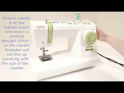 Toyota 2440 2440dx 2466 zigzag sewing machine instructions.
