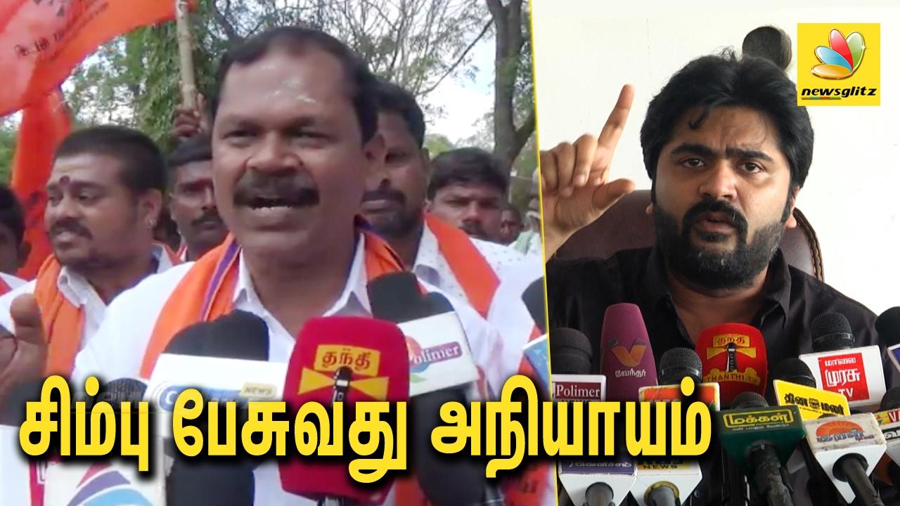 Arjun Sampath against Simbu on Jallikattu Violences & Supporting Police