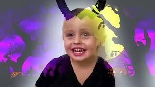 Niños y papá juegan con maquillaje y saltan en trampolines + más videos para niños