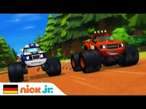 Beschleunigung 🚗💨 Offizielles Musikvideo | Blaze Und Die Monster-Maschinen | Nick Jr. Auf Deutsch