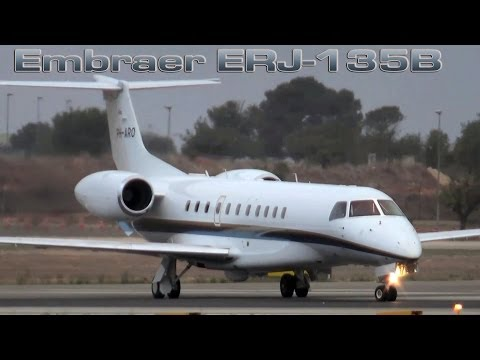 Private Jet Embraer ERJ 135B [HD]