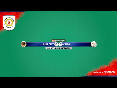 Hull Crewe Goals And Highlights