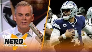 Browns showed formula to win with Baker, Colin says to manage expectations with Dak | NFL | THE HERD