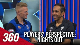 What AFL players think on a night out | AFL 360