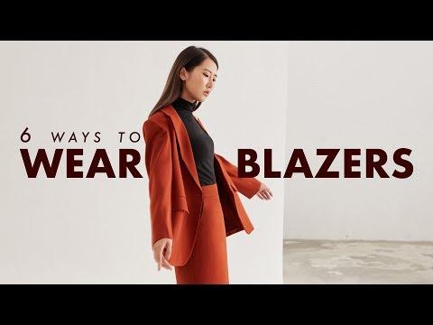 6 Cách Phối đồ Với áo Blazer / 6 Ways To Wear Blazers / From Sue