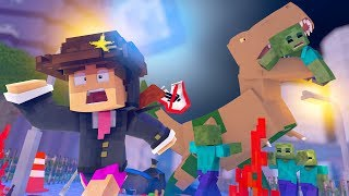 Minecraft: THE CRAFTING DEAD ! - PARQUE DOS DINOS ‹ LOKI ›
