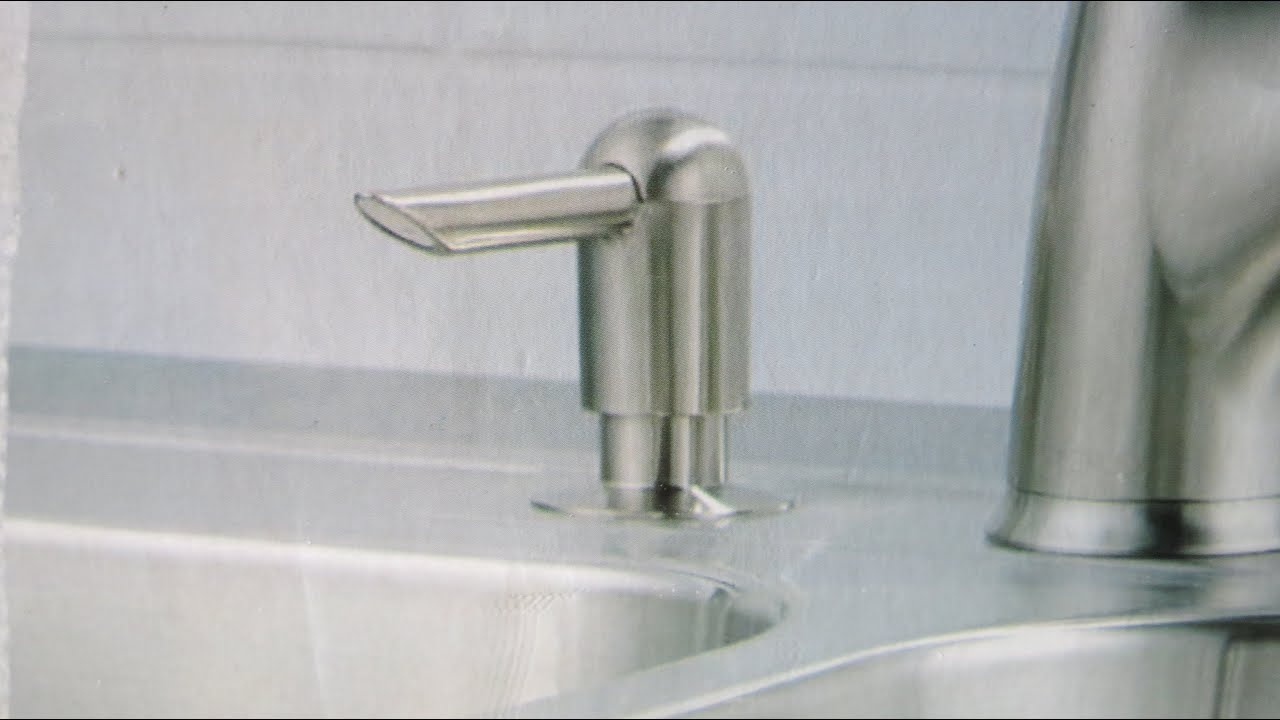 How To Install An In Sink Soap Dispenser