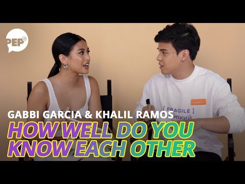 Uh-oh! Khalil Ramos mentions wrong perfume for girlfriend Gabbi Garcia | PEP Challenge