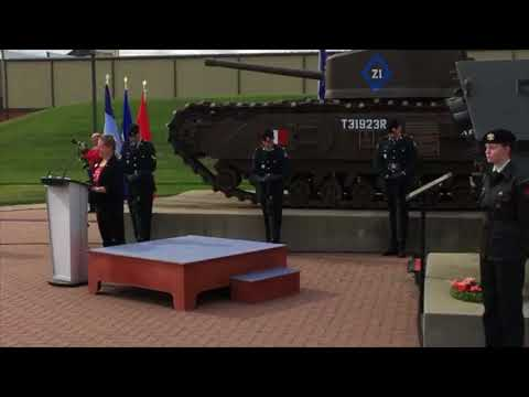 Government of Canada commemorates the 75th anniversary of the Dieppe Raid in Calgary