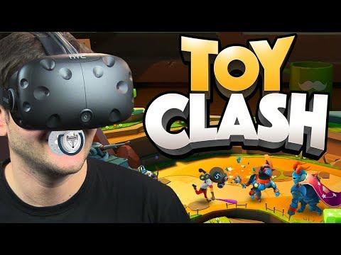 ZABAWKI WALCZĄ ZE SOBĄ - Toy Clash (HTC VIVE VR)