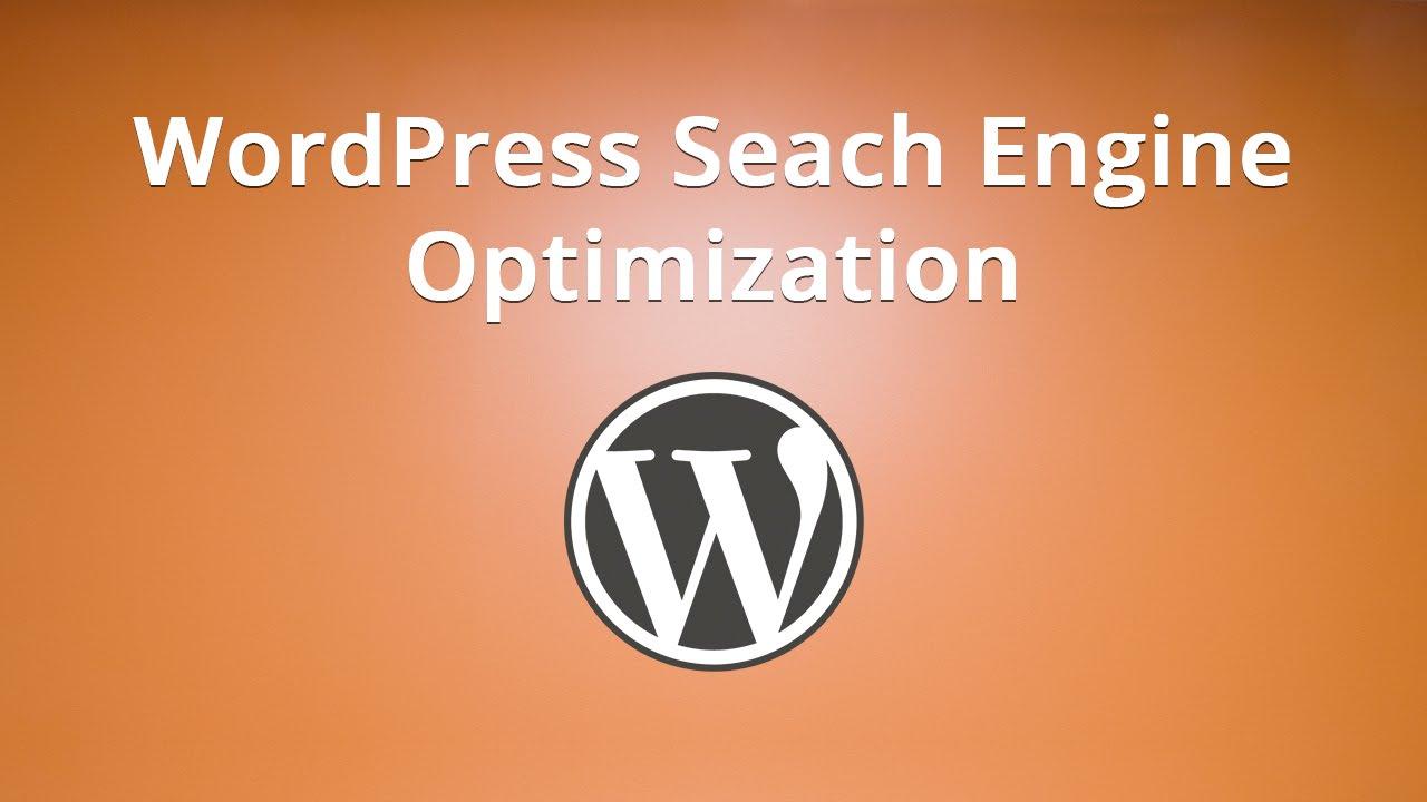 WordPress Seach Engine Optimization - YouTube